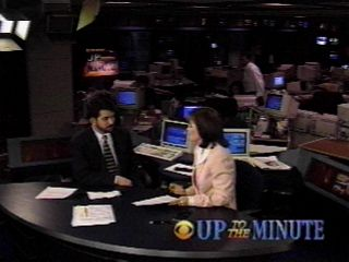 Jeff Yablon, The Computer Answer Guy, with CBS-TV News' Nanette Hansen on Up To The Minute