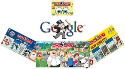 The Newest Edition of Monopoly: All Google, All the Time