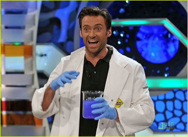 Hugh Jackman, Search Engine Optimization Mad Scientist