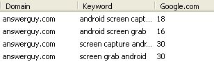 Android Screen Capture