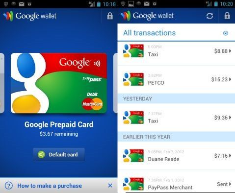 Google Wallet NFC on Galaxy Nexus
