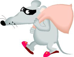 a rat as a digital media, music, movie, book and code thief
