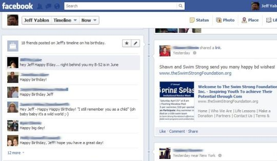 A Facebook Happy Birthday and Social Networking Stupidity