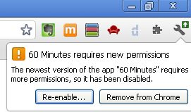 60 minutes chrome security warning part 1