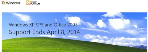 Windows XP Support Ending Soon