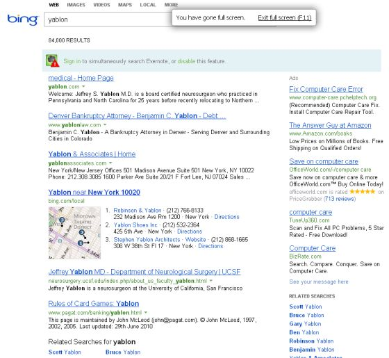With a BING!!!, Search Engines Start Making Sense