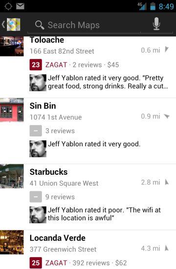 Zagat Comes to Google Plus
