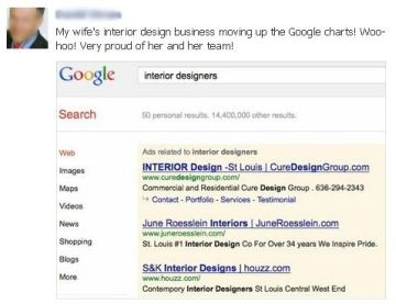 Search Engine Optimization for St. Louis Search Design