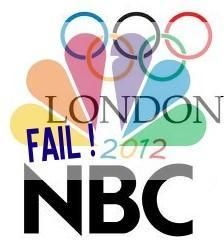 London Olympics NBC Television Social Media Fail