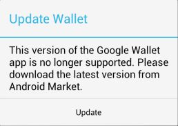 galaxy nexus verizon google wallet update