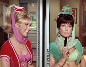 I Dream of Jeannie, With Jeannie and Her Evil Twin Sister Jeannie II