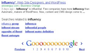 Influency Ranking for Answer Guy Central