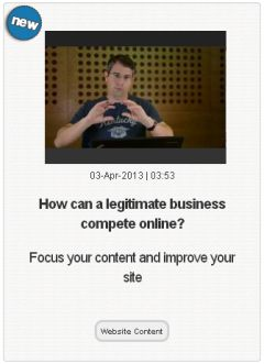 Matt Cutts, Competition, Search Optimization, and Legitimate Business