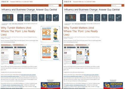 Advertsing Two-Way Influency in Adsense Videos, Example Number Two