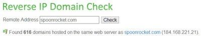 IP Lookup for SpoonRocket