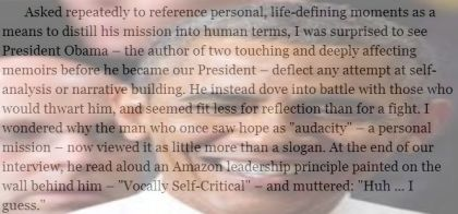 President Obama Reveals Himself in Amazon Kindle Interview
