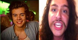 Harry Styles, Nicholas Megalis, Vine, and Real Influency