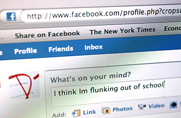 Facebook, Social Media, Flunking College, and Bad Attitudes