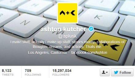Ashton Kutcher's Twitter Influency