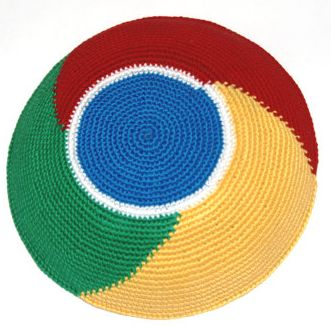 Is Google Jewish? This Chrome Yarmulke Says ehh ... could be!