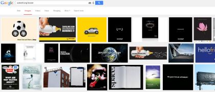 google image search for advertising teaser