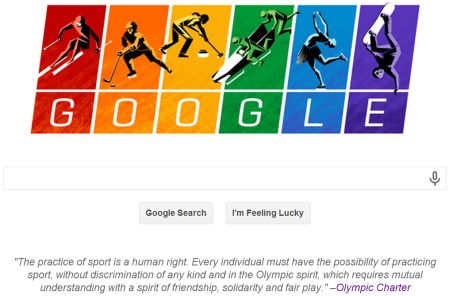 Google, LGBT Rights, The Sochi Olympic Games, and Influency