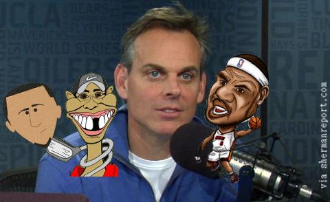 You're a Racist. Welcome to Colin Cowherd's Business Process