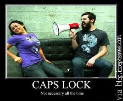CAPS LOCK, Shouting, and Context