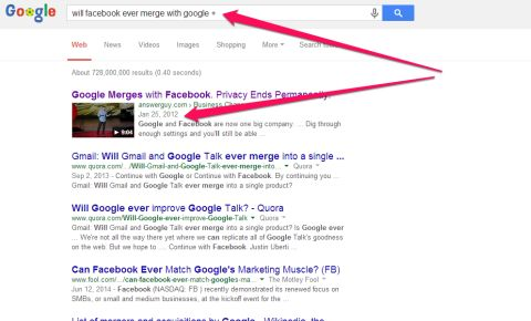 Google Merges with Facebook