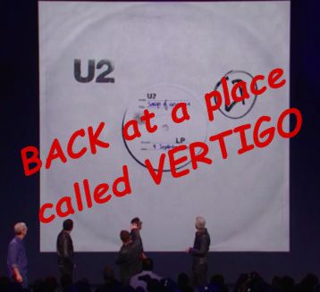 U2, Apple Bring Music Back to a place called Vertigo