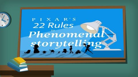 Pixar Storytelling Content Marketing