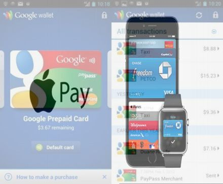 Google Wallet Apple Pay Isis Softcard