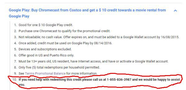 Alphabet Customer Service and Google Chromecast