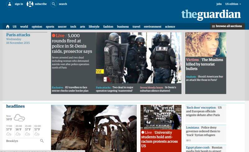 The Guardian and Design (and Design is Dead)