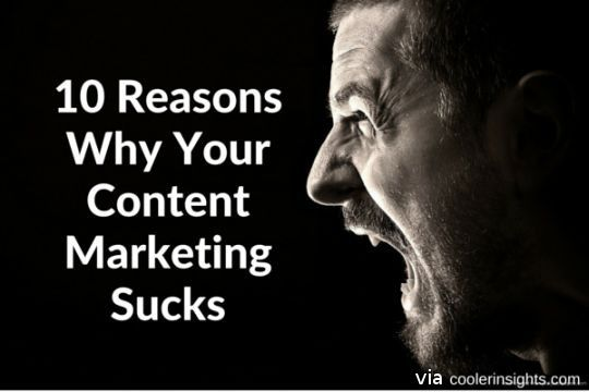 Your Content Marketing Sucks
