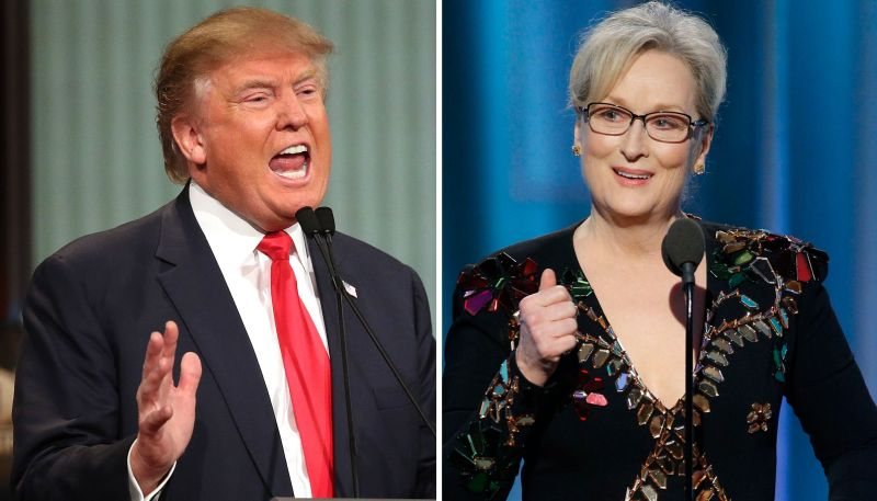 The Donald and The Actress and The Mouth