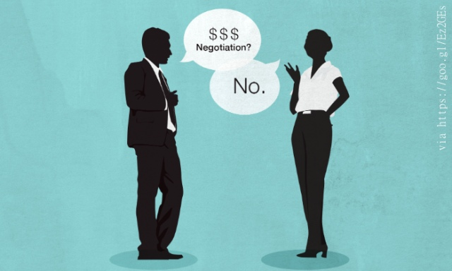 Women Can't Negotiate