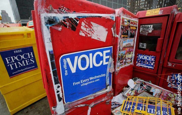 Death of The Village Voice