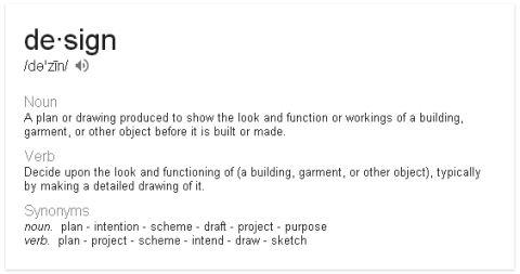 Google Defines Design
