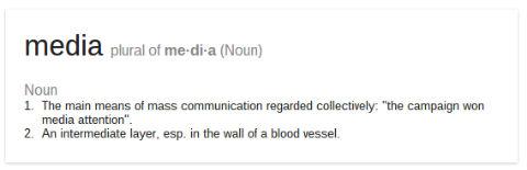 Google Defines Media